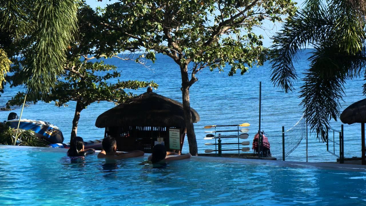 Palm beach resort san juan batangas slides youtube for Batangas beach and swimming pool resort