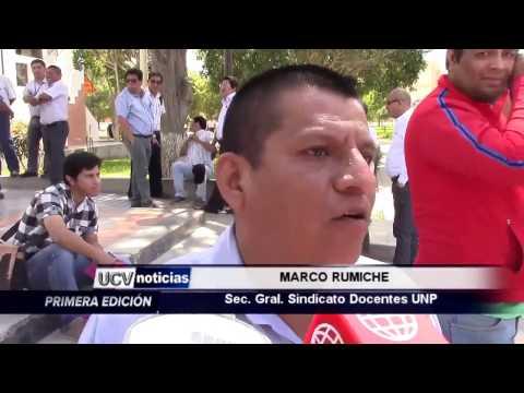 PABELLONES AMANECIERON ENCADENADOS-UCV NOTICIAS PIURA