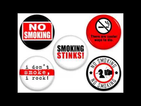Anti smoking Slogans - YouTube