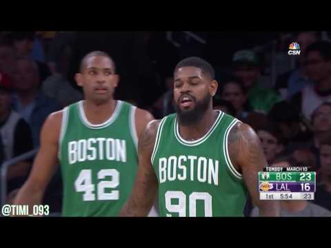 Amir Johnson Highlights vs Los Angeles Lakers (13 pts, 6 reb, 4 ast)