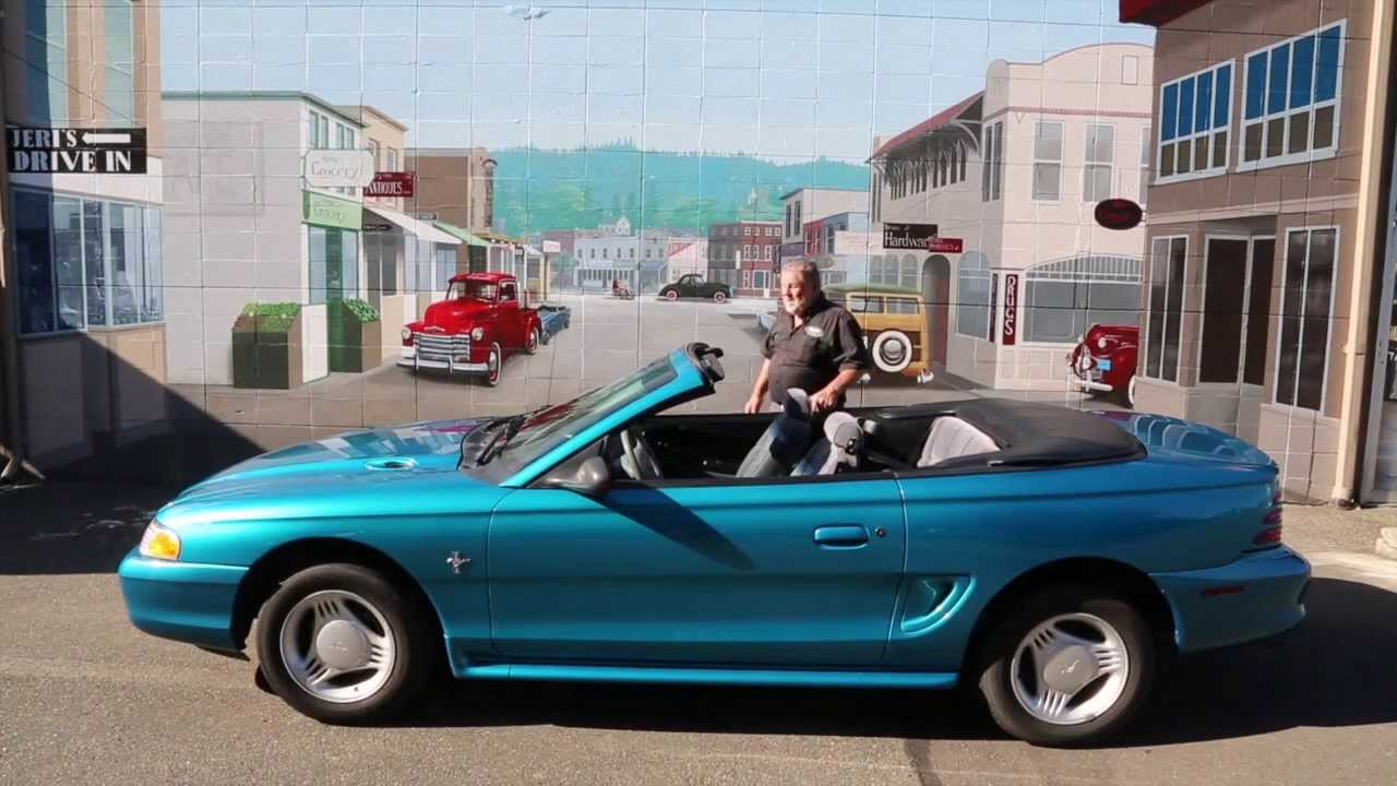 1995 ford mustang convertible sold dragers international classic sales 206 533 9600