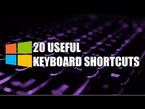 20 Useful Keyboard Shortcuts You Need to Know! (Windows)
