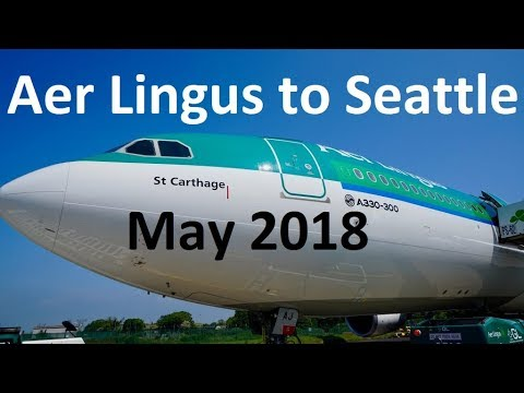 Aer Lingus to Seattle new route announcement - TravelMedia.ie TTR