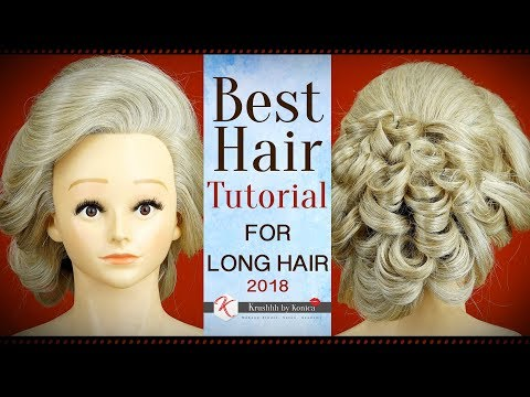 Best Hairstyle For Long Hair Tutorials | Easy Hairstyle Tutorials For Weddings | Krushhh By Konica thumbnail