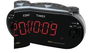 Timex T715BW3 Dual Alarm Clock Radio