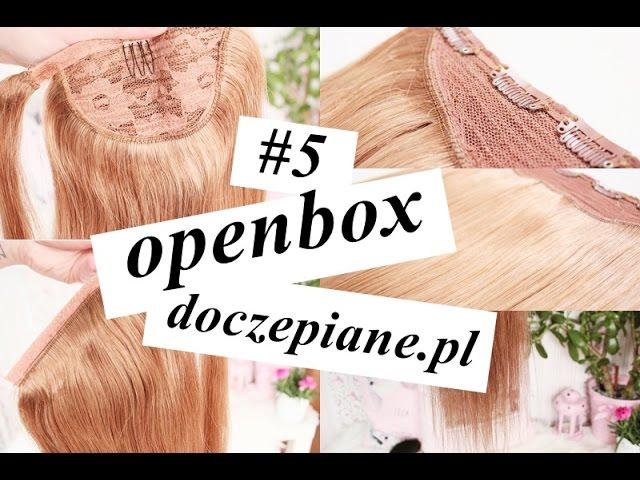 #5 openbox doczepiane.pl Naturalne włosy Clip In [anna koper]