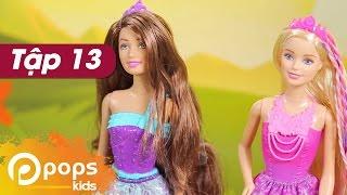 Chị Hai Bé Xíu- Tập 13- Công Chúa Tóc Dài- Búp Bê Barbie