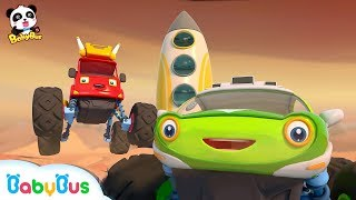 Monster Cars Go On An Expedition To Space | Space Alien | Monster Truck Song | BabyBus
