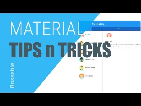 AngularJS Material Design Toolbar Tips and Tricks ⋆ Bossable