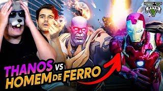 GTA: THANOS VS HOMEM DE FERRO - MOD VINGADORES