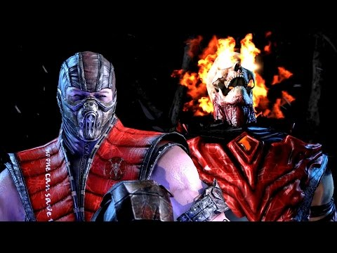 Mortal Kombat X Blood Dragons Scorpion VS Subzero Mods