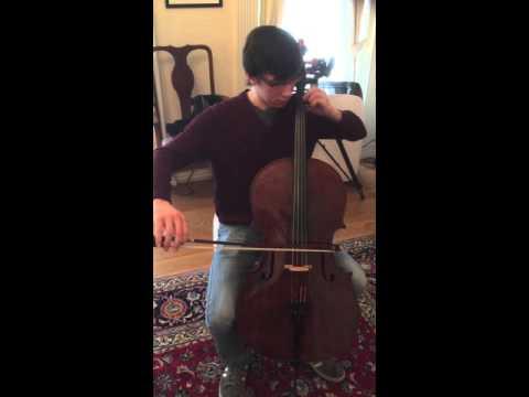 Erik: with Andrea Guarneri cello