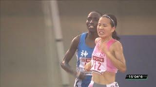 女子 5000m 決勝 第103回日本陸上競技選手権大会