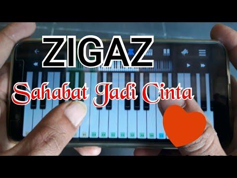 ZIGAZ - Sahabat Jadi Cinta, Cover Piano Mudah Di Android (Perfect Piano)