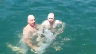 Baptism of Venus, Lake Travis, TX, 6/2/18 - Lord Steven Christ's Concave Earth
