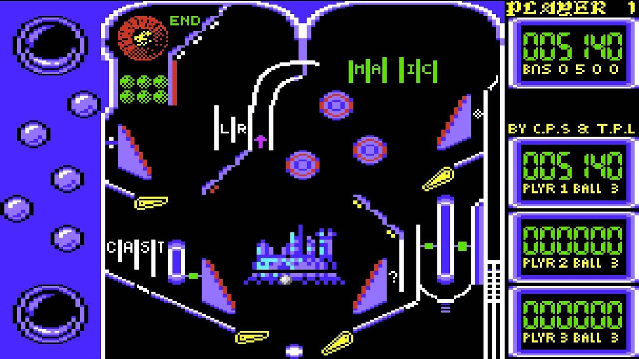 C64 HD - Advanced Pinball Simulator - YouTube