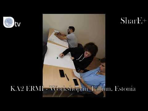SHARE+   KA2 ERMI - Workshop in Tallinn, Estonia
