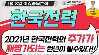 한국전력(015760) - 2021년 한국전력의 주가가…