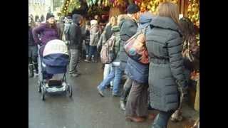 Natka na vánočních trzích ve Vídni