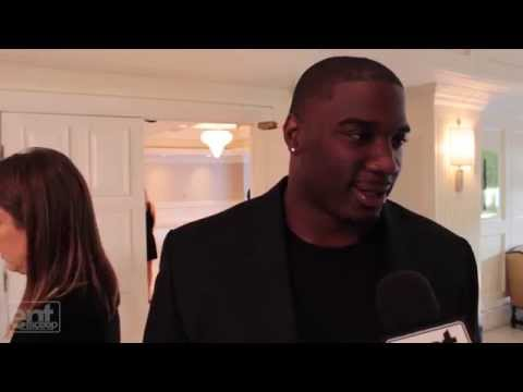 "Red Carpet Interview: Donovan Carter, ""Ballers"" - YouTube"