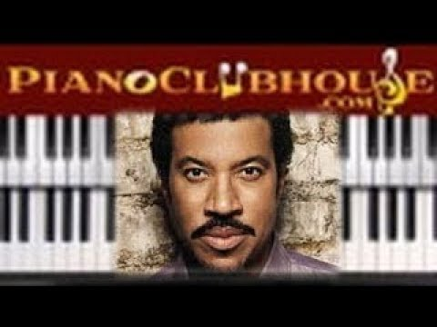 How To Play Hello By Lionel Richie Easy Piano Tutorial Lesson