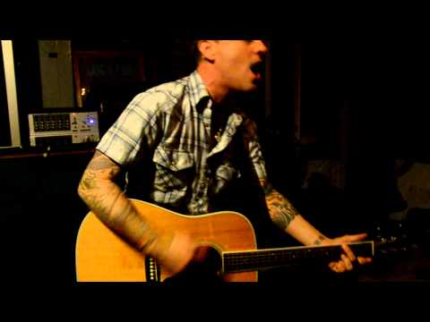 "Dave Hause singing ""Trusty Chords"" by Hot Water Music"