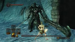 Dark Souls 2. SL1. Bosses 34. Fume Knight / Дымный рыцарь (No damage)