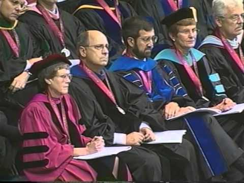 Hooding of Vivian Malone Jones, August 2000