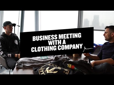 Starting A Clothing Line With East Coast Lifestyle | GaryVee Business Meetings