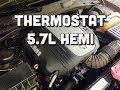 How to Replace Thermostat on a Dodge 5.7L Hemi - P0128 - Challenger Charger Magnum Ram Commander