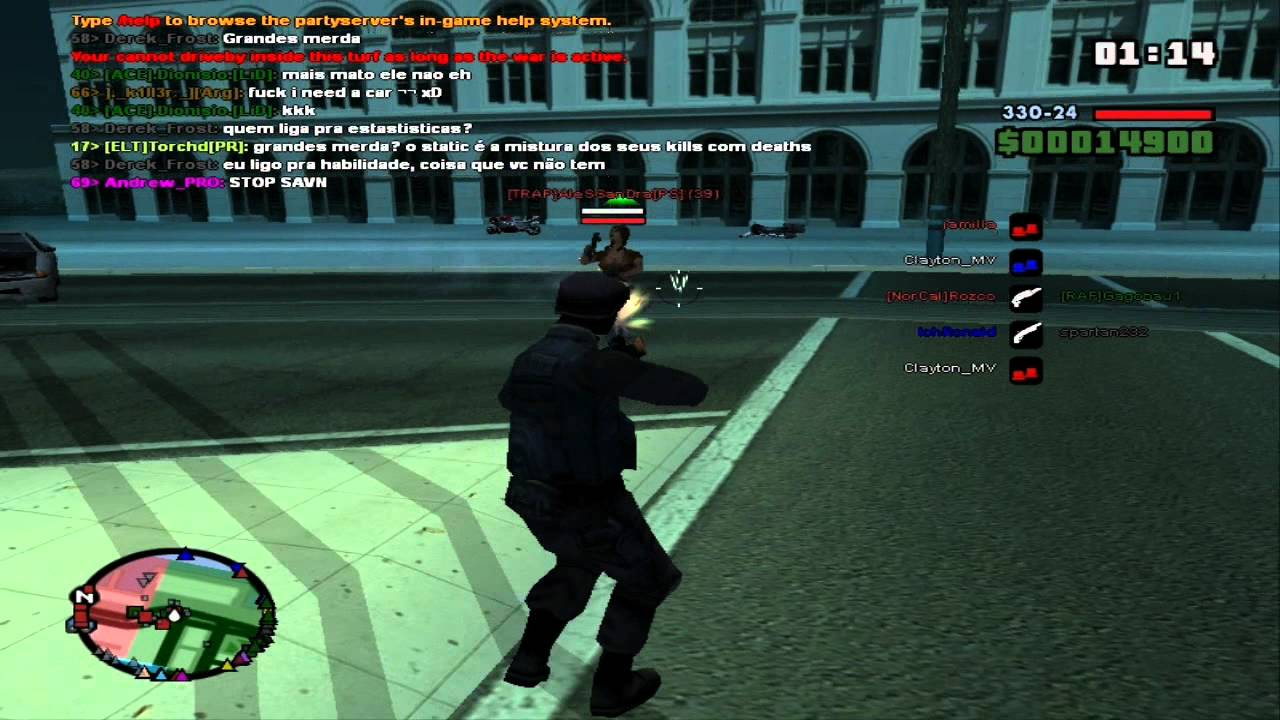 San Andreas Multiplayer - Download