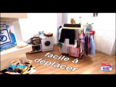 dry05 sechoir innovation teleshopping youtube. Black Bedroom Furniture Sets. Home Design Ideas