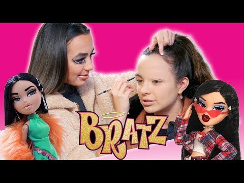 Turning Each Other into BRATZ DOLLS - Merrell Twins