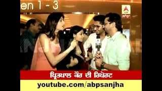 TV NEWS -- ABP SANJHA -- Premiere Show -- Mundeyan Ton Bachke Rahin ( Trivani Media )