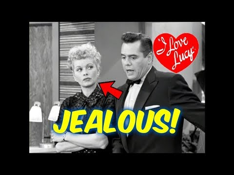 I Love Lucy--10 Moments where Lucy Ricardo Was EXTREMELY Jealous!