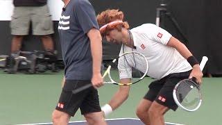 Novak Djokovic Funny Moments. Watch this hilarious Djokovic video.