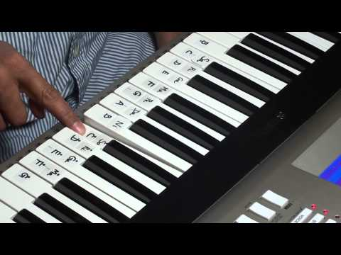 Pedave Palikina how to play on keyboard part 1