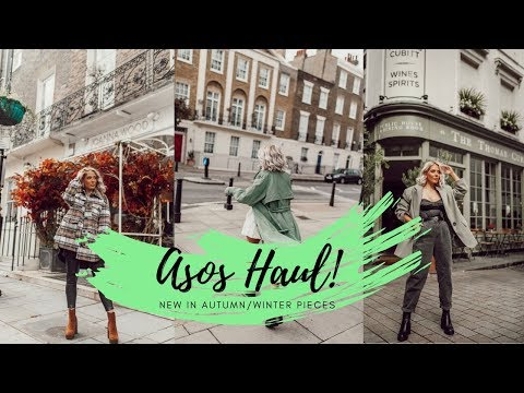 ASOS HAUL | NEW IN AUTUMN/WINTER PIECES! India Moon