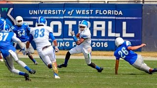 UWF Football Scrimmage at Blue Wahoos Stadium
