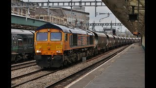 Freight trains and more at Newport on 22nd March 2019
