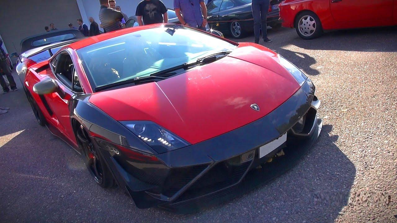 Custom Lamborghini Gallardo W Lots Of Carbon Fiber And Air