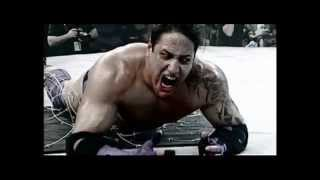 Abyss vs Judas Mesias BLOODY BARBED WIRE MATCH! 2008 HD