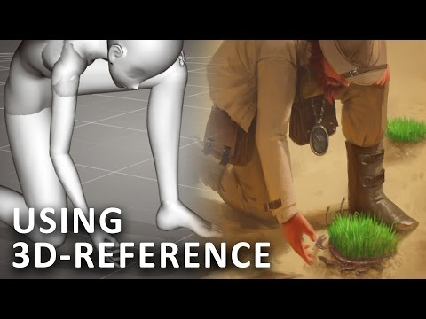 USING 3D POSE REFERENCE - Outlandish Curiosity