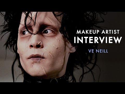 Edward Scissorhands Makeup Artist   LIVE@IMATS 2015