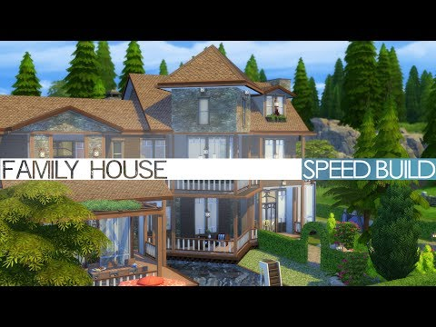 The Sims 4 Parenthood - TRADITIONAL FAMILY HOUSE