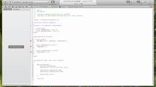 Objective C and Mac OS X Development, Lecture 2