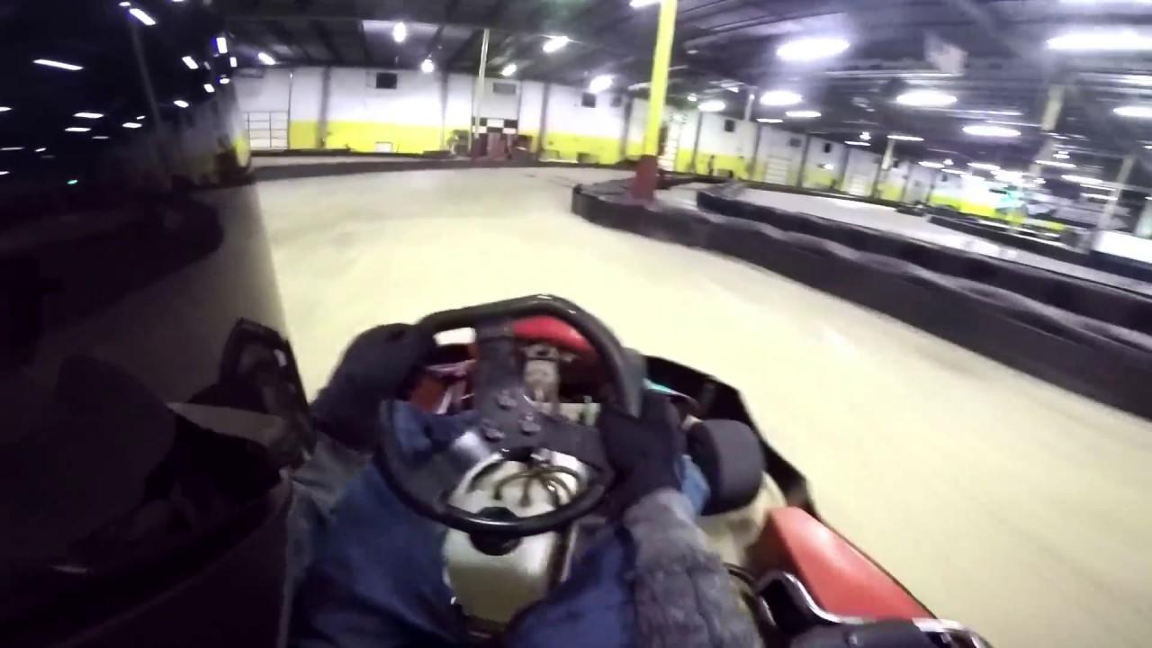 va kart 24.2 in the superkarts! ((G Force karts Richmond, VA)) 12/13/16