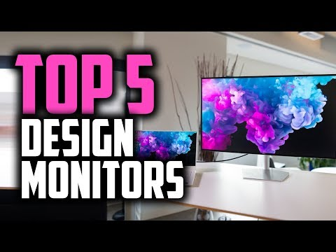 Best Monitors For Graphic Design In 2019 [For Photoshop, Illustrator & More]