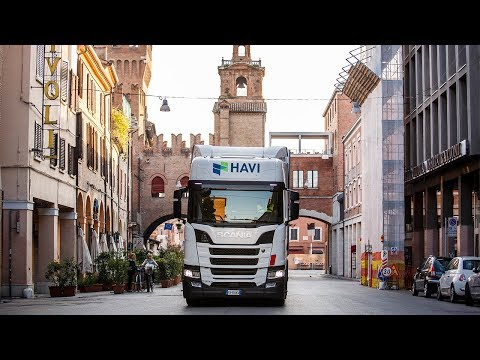 Secretly Testing Scania's New Gas Engine in Italy