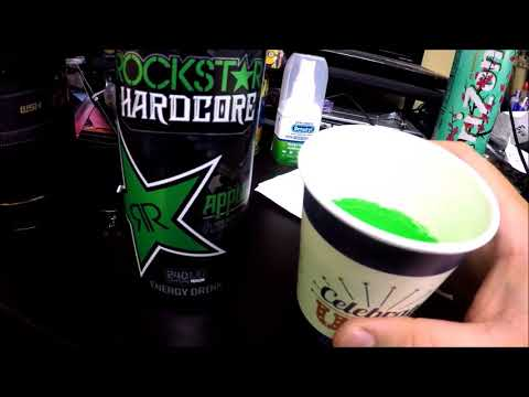 Rockstar Energy Drink Apple Flavor Review